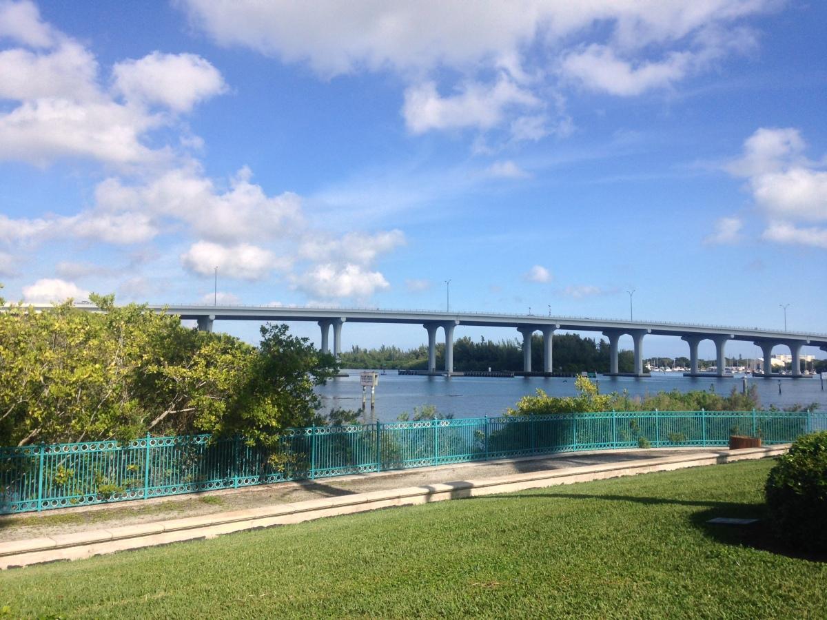 Mid-morning run in Vero Beach, Florida